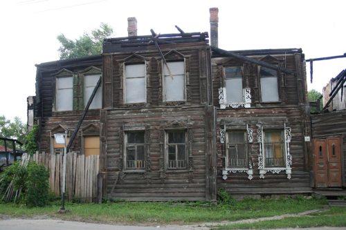 Дому Шахова недавно губернатор пообещал реставрацию. Сбудется ли?