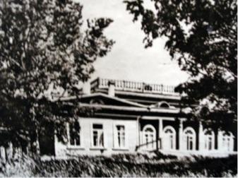 Курорт Солониха, главный корпус по проекту А. А. Борисова (1927 г.)