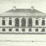 Образец для нескольких вологодских зданий из «Собрания фасадов» (второй альбом, чертёж 86), 1809 г.