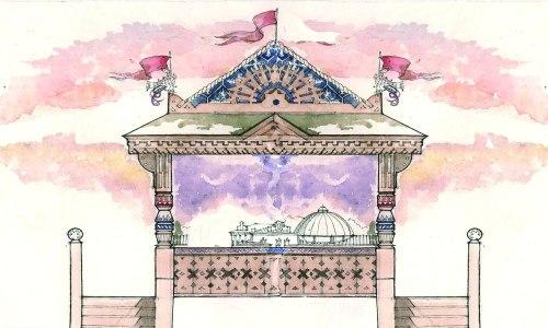 Эскизный проект башенки. Антон Мякишев