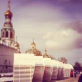 Ларьки на Кремлёвской площади (архитектор Михаил Приёмышев). Фото: Антон Мякишев