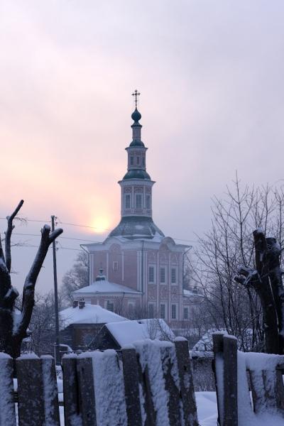 Церковь Рождества Христова — главный храм города. В конце XIX в. церквей было 12, после советских сносов осталось только 4. Фото: Пётр Ушанов